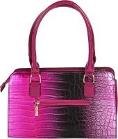 Fashion Koni Solid Hand-held Bag Pink02