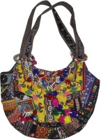 Lal Haveli Indian Cotton Fashion Adorn with Hand Embroidered & Patchwork Work Shoulder Bag
