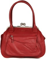 Goguava Leather Bag With Front Pocket Hobo Red