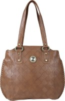 Kovi Solid Appeal Shoulder Bag Brown02