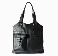 Hibiscus Shining Glory Shoulder Bag Black-08