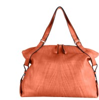 Beroza Handcraft Joplin Shoulder Bag Orange