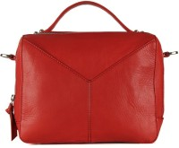 Goguava Goatskin Bag With Short Grab Handle Hand-held Bag Red