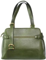 Chanter Branded Genuine Leather Hand Bag Green -11