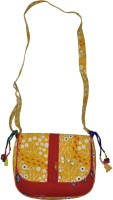 Lal Haveli Rajasthani Beeautiful Attractive Printed Sling Bag Multicolor