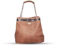 Fab Fashion Designer Shoulder Bag Brown