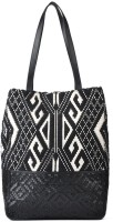 Goguava Jacquard Shoulder Bag Black