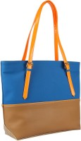 Zaera Two Tone Tote Blue