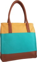 Toteteca Bag Works Color Band Shoulder Bag Turquoise