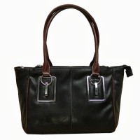 Chimera Leather 1127 Hand Bag Black