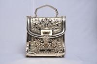 Senora Stylish Hand-held Bag Gold