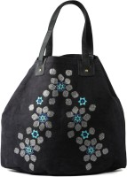 Goguava Canvas Shopper Hand-held Bag Black