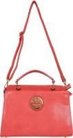 KFT Solid Grace Hand-held Bag Pink-01