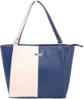 Beau Design PU leather Tote Blue-02
