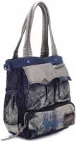 Club Sport Hand-held Bag Metallic Blue