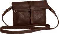 Beroza Handcraft Bohemia Detachable Clutch Sling Bag Dark Brown