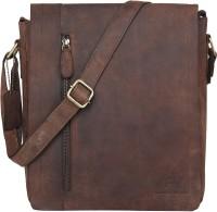 Leaderachi Berlin Messenger Bag Brown