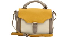 HX London Tansy Messenger Bag Grey, Yellow