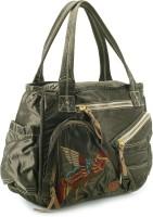 Club Sport Hand-held Bag Metallic Green