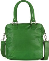 Goguava Leather Bag With Single Shoulder Strap Hobo Green