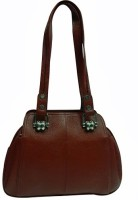 Chimera Leather 5473 Hand Bag Brown