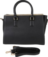 Kovi Contemporary Satchel Black04