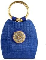 Saisha Modish Hand-held Bag Blue