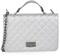 Adisa B0446 Hand-held Bag Silver