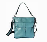 Hibiscus Me Shoulder Bag Blue-07