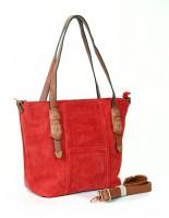 Carry on Bags Festive Fervour Messenger Bag Red