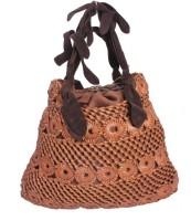 Khoobsurati Unique and Elegant Designer Hand Bag Brown