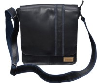 Le Craf Oliver Messenger Bag Black-04