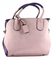 Urbane Chics Trendy Hand-held Bag Peach-006