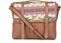 Paprika Simone Messenger Bag Black, Brown