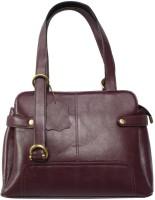 Chanter Branded Genuine Leather Hand Bag Purple - 16