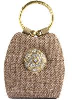 Saisha Modish Hand-held Bag Brown