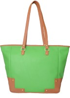 Toteteca Bag Works Large Basket Tote Hand Bag Fl Green::Tan