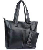 Buckleup Outpocket Desing Shoulder Bag Black