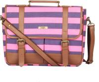 Paprika Fleur Messenger Bag Blue, Neon Pink