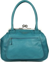 Goguava Leather Bag With Front Pocket Hobo Blue