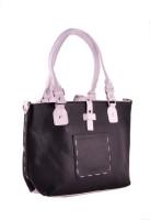HX London Spurge Hand-held Bag Black, White