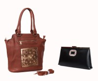 Carry On Bags Valentine Special Combo Hand-held Bag Tan
