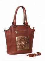 Carry on Bags Festive Fervour Messenger Bag Brown