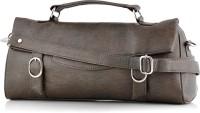 Spring Summer Collection Sleek Hand-held Bag Brown