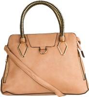 Glitters Smart with Designer Hand-held Bag Beige