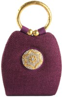 Saisha Modish Hand-held Bag Purple