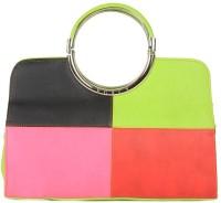 Miss Sunshine Beau Hand-held Bag Green/Pink