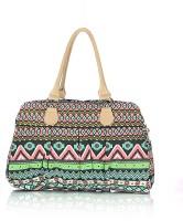 Shaun Design Aztec Embroidered Hand-held Bag Assorted