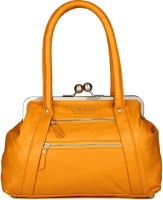 Goguava Bright Yellow Leather Bag Hobo Yellow
