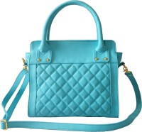 Toteteca Bag Works Quilted Compact Tote Hand Bag Turquoise